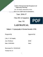CSS Lab Manual