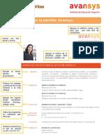 CV Avansys - Guia Para Elaborar CV