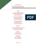 ANTOLOGI FEY -Kumpulan Puisi Recehan- Vol. 1