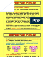 Temperatura Calor y Gas Ideal