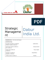 Strategic Management Project for Dabur India Limited