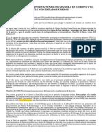 La Caida de Las Exportaciones de Madera en Loreto y El Tlc Pl
