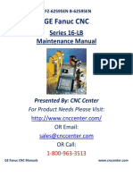 Fanuc 16 -E Maintenance Manual