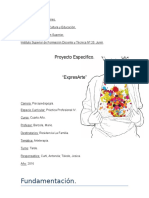 Proyecto psicopedagogico para adultos mayores