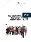 ISO2Q Auditor Transition Assessment Issue 1 2015