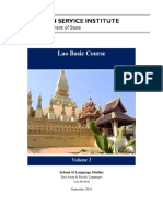 Lao Basic Course - Volume 2
