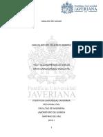 Trabajo Analisis de Aguas Quimica2016