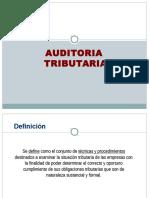 Auditoria Tributaria y Facultad de Fiscalización