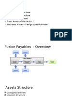 Oracle Fusion Fixed Assets