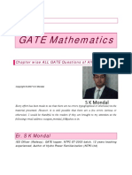 GATE Mathematics Questions All Branch by S K Mondal