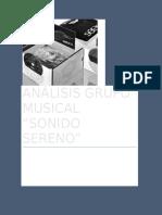 Analisis Sonido Sereno