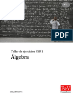 Resumen Algebra