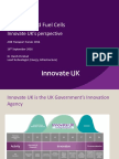 Hydrogen and Fuel Cells Training_7 - H Pershad - Innovate UK Hydrogen and Fuel Cells