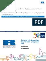 Hydrogen and Fuel Cells Training_10 - N Asselin Miller - Overview of Hydrogen Light Duty Vehicles – Progress to Date
