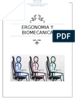 Ergonomia y Biomecanica