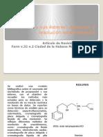Propranolol Separacion de Rasematos