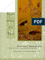 Kawabata, Yasunari - First Snow on Fuji (Counterpoint, 1999)
