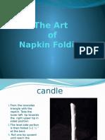 Art of Napkin Folding