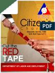Citizen's Charter (DOLE)