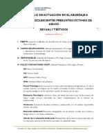 Protocolo Acuacion Niñas Niños y Adolescente Victimas Abuso Sexual
