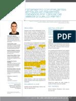 Tratamiento Con Implantes Dentales en Pacientes Irradiados Por Cáncer de Cabeza y Cuello (2014)