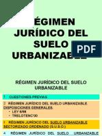 Regimen Juridido Suelo Urbanizable