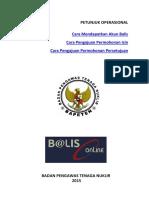 Manual Balis Online 2015