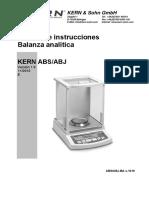 Manual Instrucciones Balanza ABS-ABJ-BA-s-1019