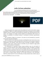 Giacomo Leopardi e La Luna Salentina _ Zibaldoni e Altre Meraviglie