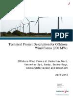 Offshore Technical Project Description Generic Vesterhav Nord April 2015