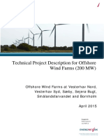 Offshore Technical Project Description Generic Vesterhav Nord April 2015