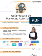 Guía Práctica de Marketing Automatizado - La Consultoria Digital Con Geni Ramos