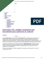 Intercepter-NG_ Análisis y Manual de Esta Herramienta Para Auditorías en Android