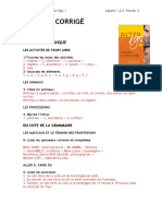 Corrigc3a9 Cahier Dactivitc3a9s Dossier 3