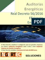 Real Decreto 56 2016 Sobre Auditorias Energeticas