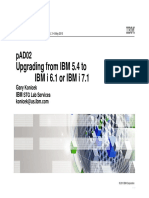 -V7R1- Migrating From V5R4 to IBM i 7.1