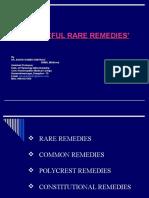 Rare Remedies (1)