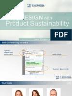 Presentation - Ecodesign With Product Sustainability