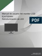 E2470SHW Manual Spanish