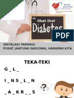 Obat Diabetes Oral