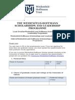 Weidenfeld-Hoffmann Scholarships Questionnaire (Word, 256kb)_1