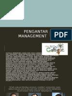 Pengantar Management
