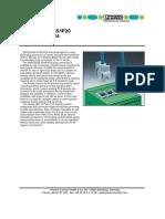 Variosub Rj45,Ip20 Plug Connectors