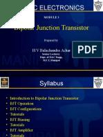 3. Transistor Characteristics