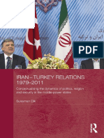 Iran-turkey Relation, 1979 - 2011