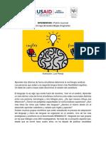 Lectura Semana 3 Actividad 2 Mapa Del Cerebro Bilingüe