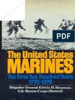 The United States Marines the First Two Hundred Years 1775 1975
