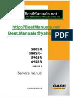 CASE Service Manual 580SR_SR+_590SR_695SR