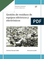 Gestión de Residuos Electrónicos