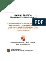 LicenciaCazaCyL2015Temario